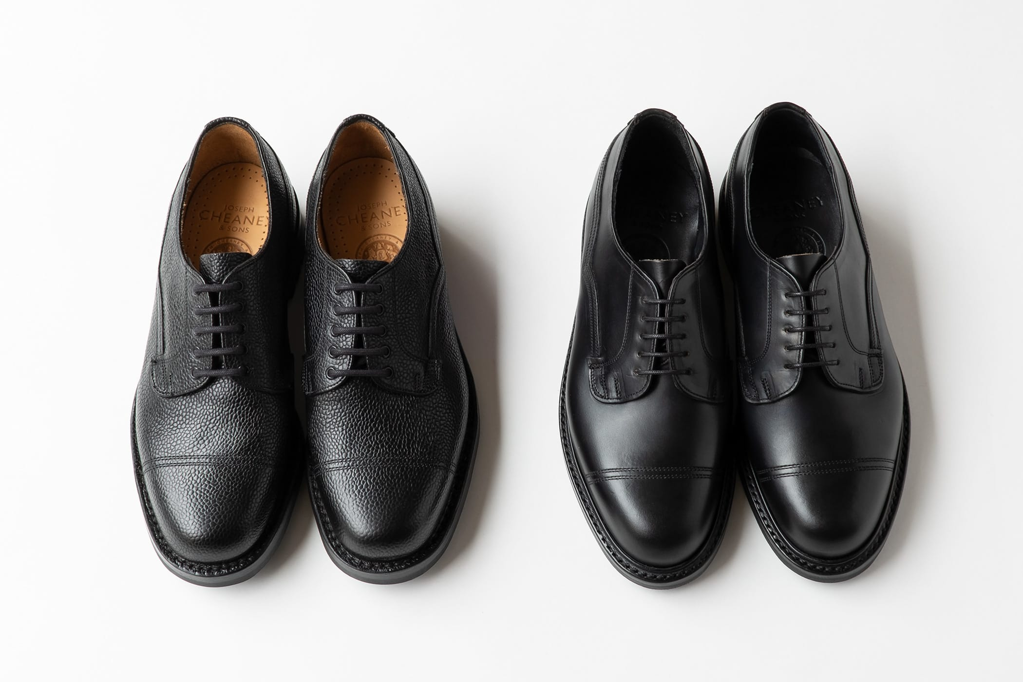 Military shoes of BRITISH MADE JOSEPH CHEANEY come up with hybrid specifications