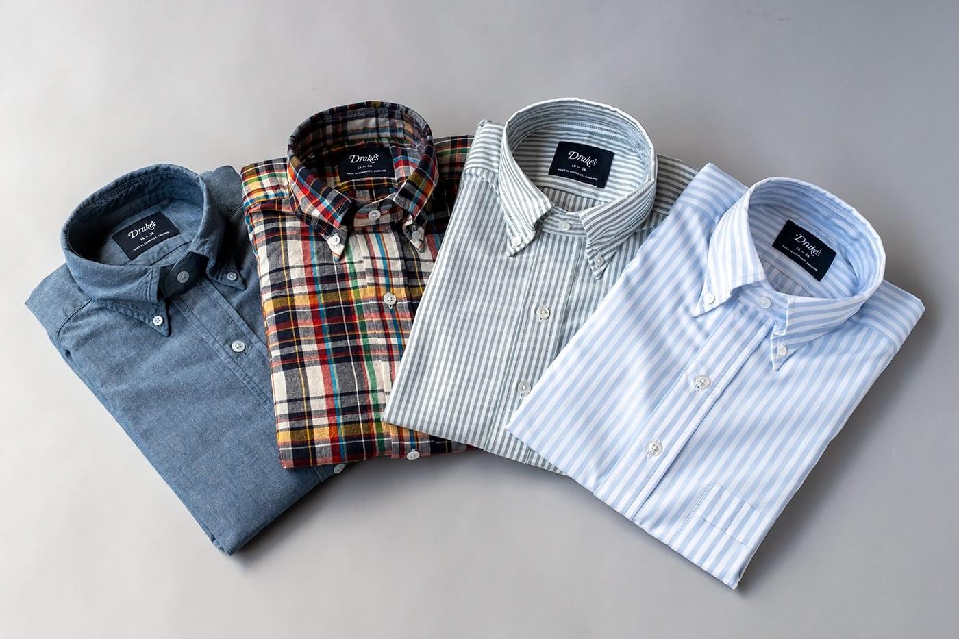ドレイクス 英国ブランドのこだわりが詰まったB.Dシャツ