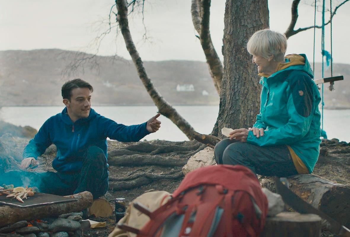 イーディ、83 歳 はじめての山登り