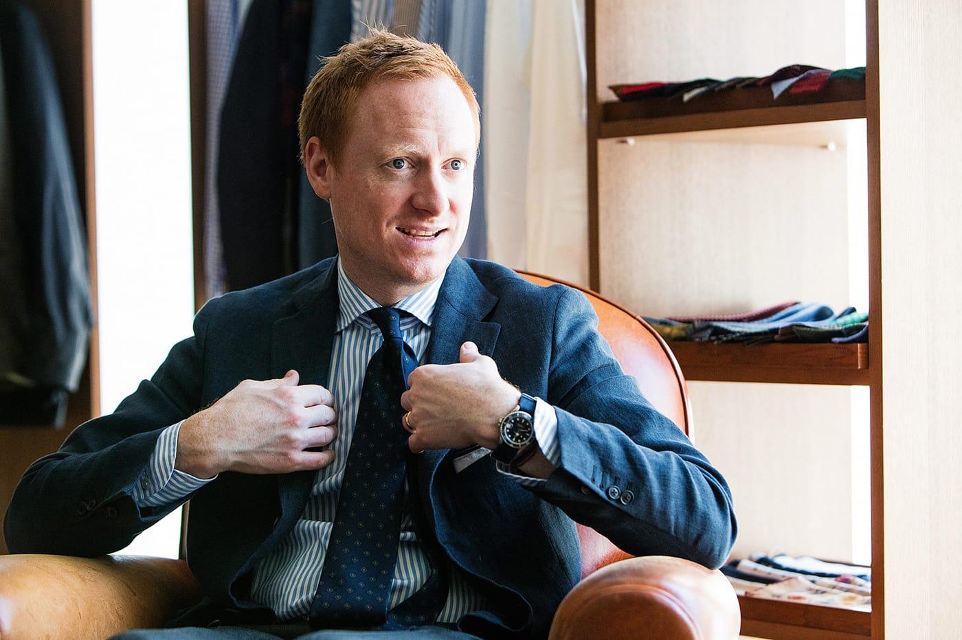 マイケル・ヒル氏にとっての良いネクタイとは