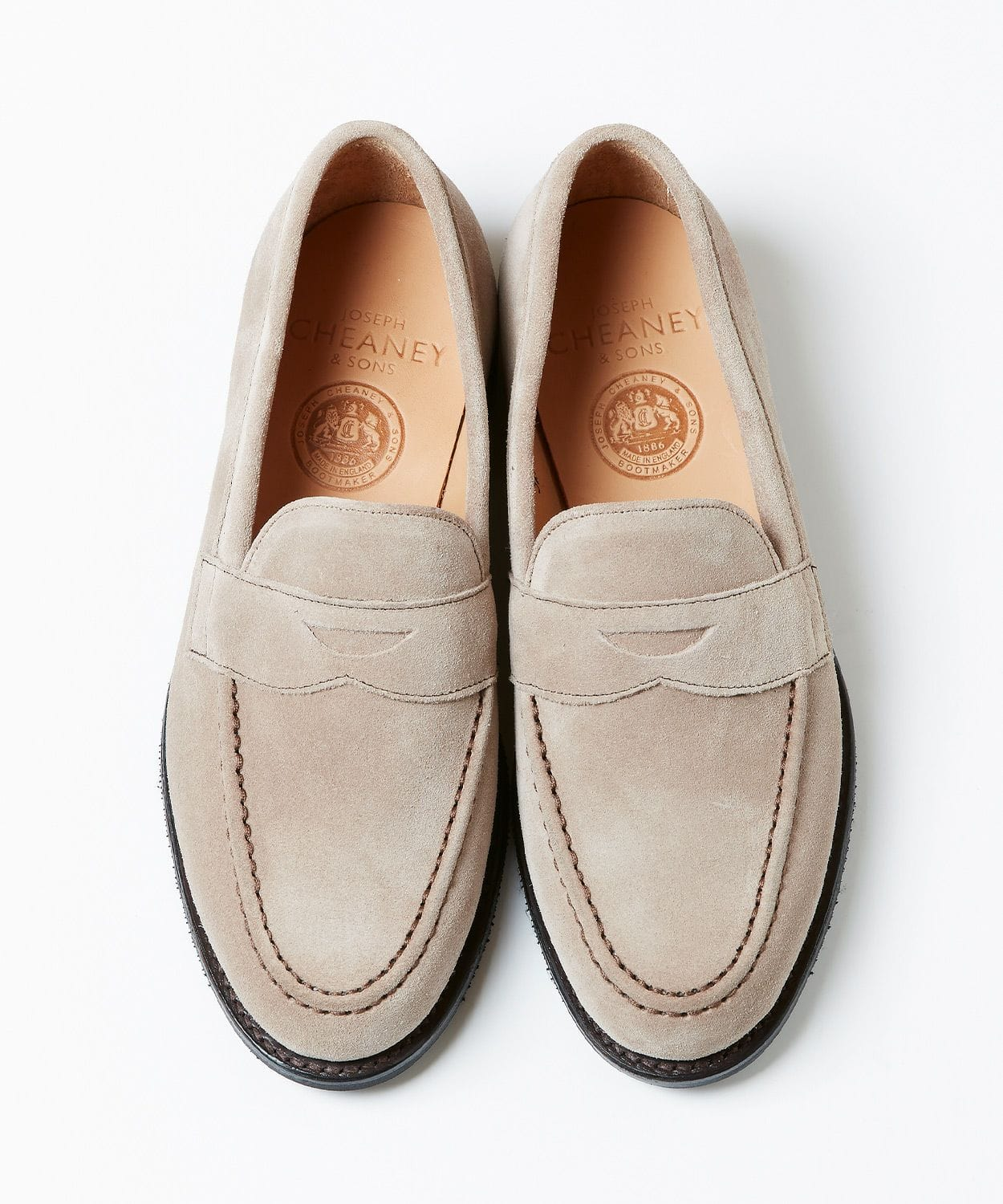 The last 5203 for exclusive use of JOSEPH CHEANEY men 2020SS loafers