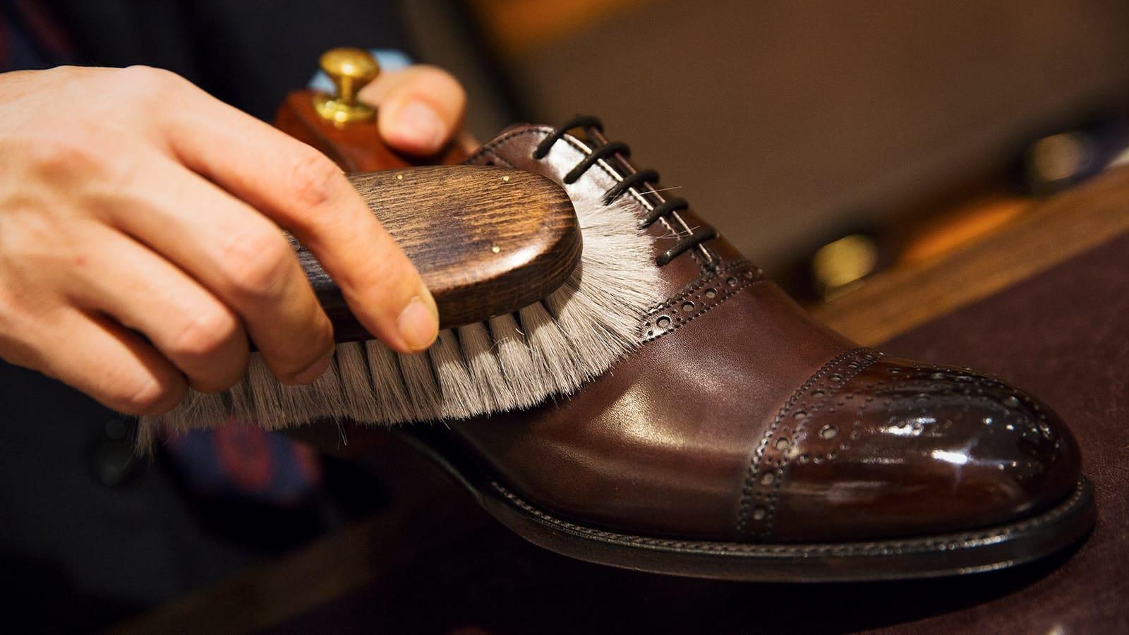 革靴を長く履くために。オンライン靴磨きワークショップとトークライブを6月13日限定開催!