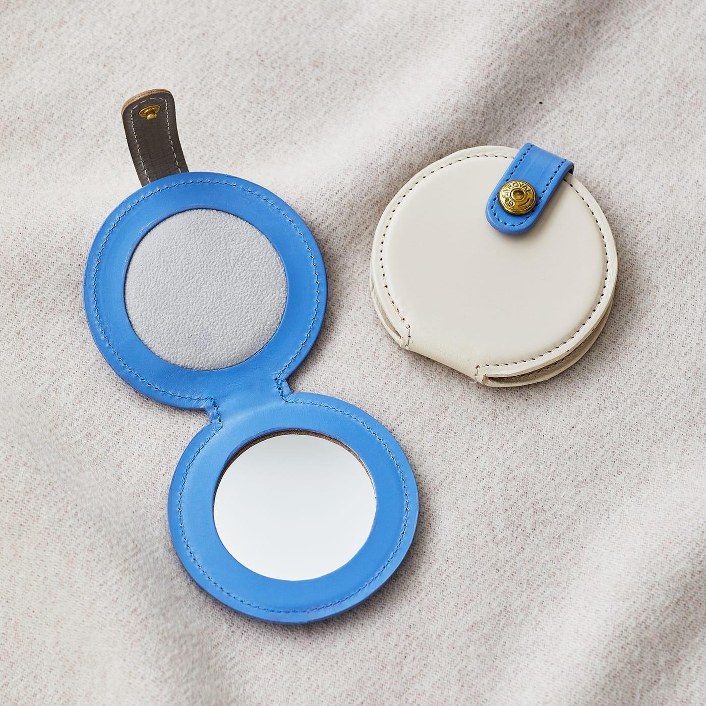 グレンロイヤル コロンと丸い形が愛らしいミラー FOLDING ROUND MIRROR