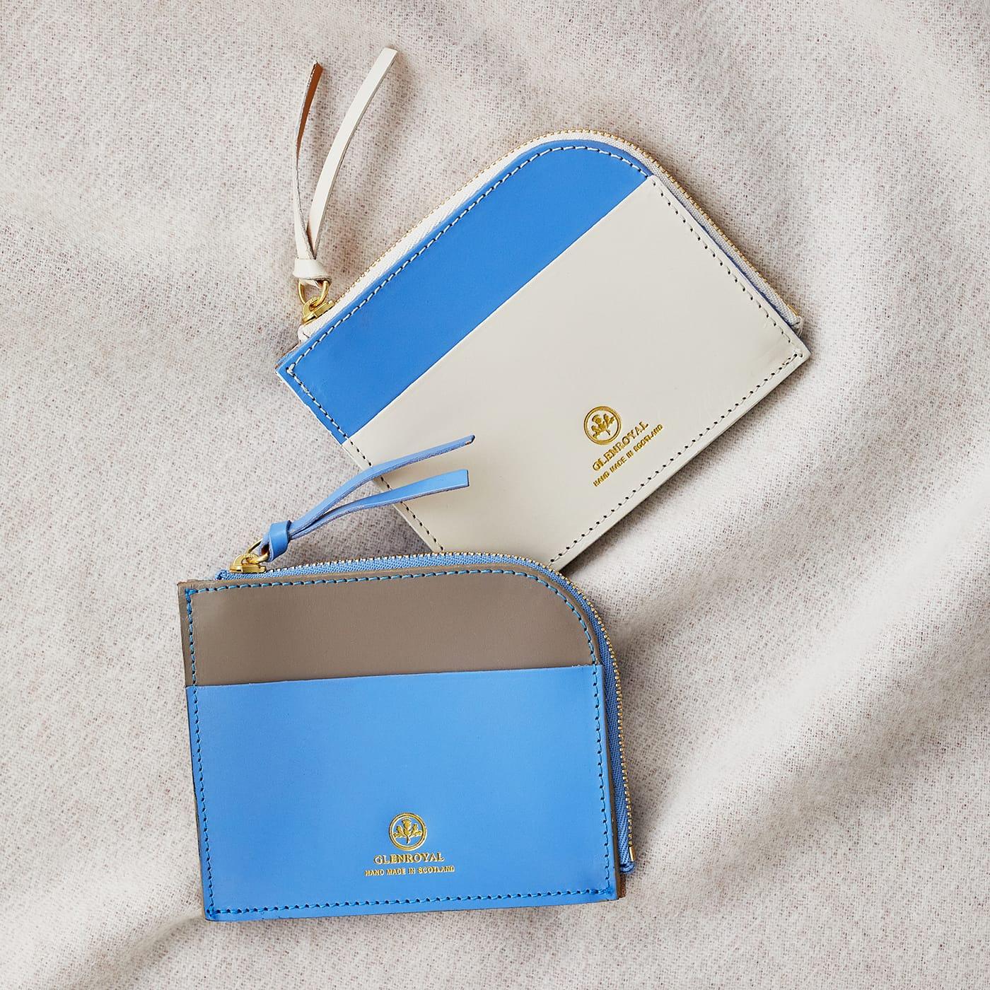 グレンロイヤル スリムなL字ジップ財布 ZIP MINI PURSE WITH CARD POCKET