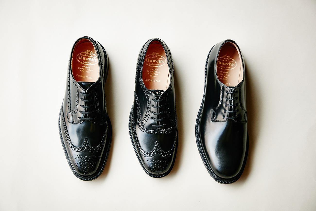 シンプルで長く使える実用的な英国靴の代表 チャーチ