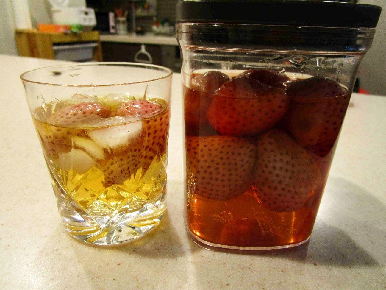 イチゴとウイスキー