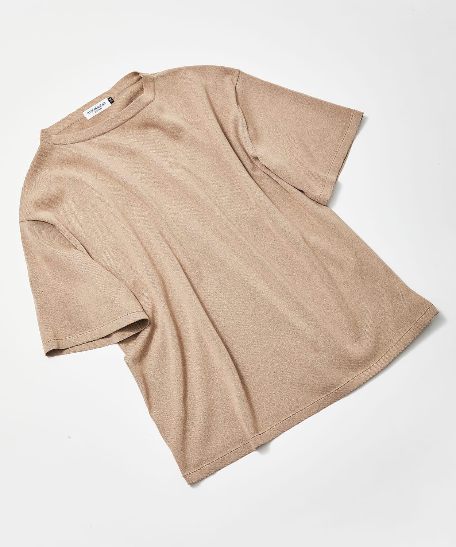 マカラスター 2021年春夏 新入荷 ボートネックニットTシャツ