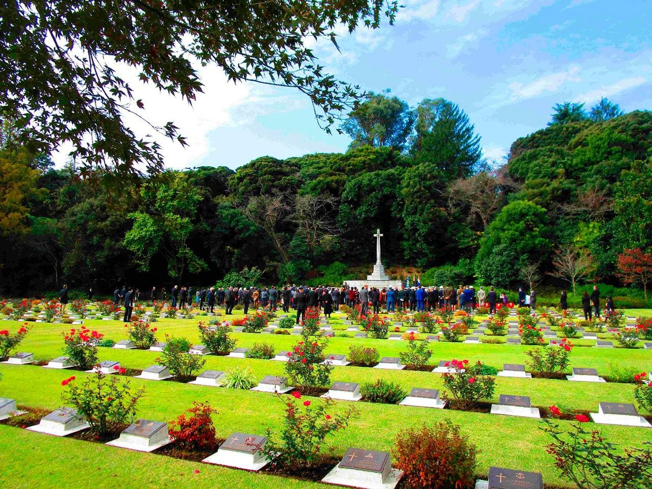保土ヶ谷イギリス連邦墓地
