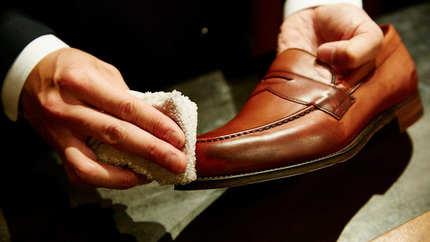 『Brift H』長谷川 裕也氏に聞く、濡れた革靴のメンテナンス方法
