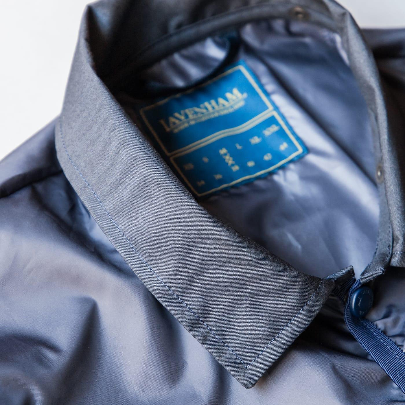 ラベンハム 2021年春夏 レイドン 清涼感のある素材を襟に採用