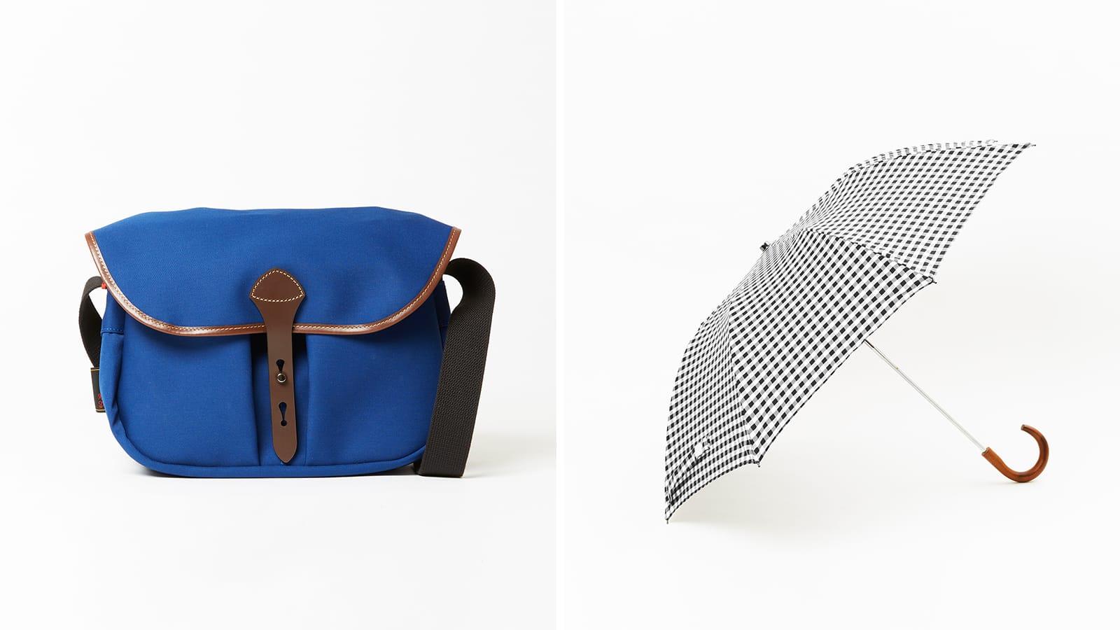 雨の季節にも活躍する機能的でエレガントな英国製バッグと傘をご紹介 Billingham, Fox Umbrellas