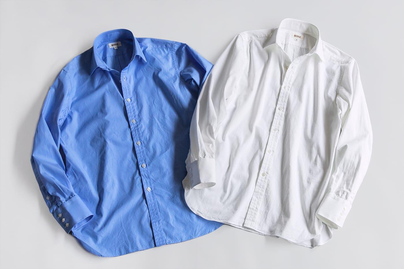 """カジュアルシャツ「ブライトン」 ビスポークテイストのクラシックシャツを、あえて""""ゆったり""""カジュアル化"""