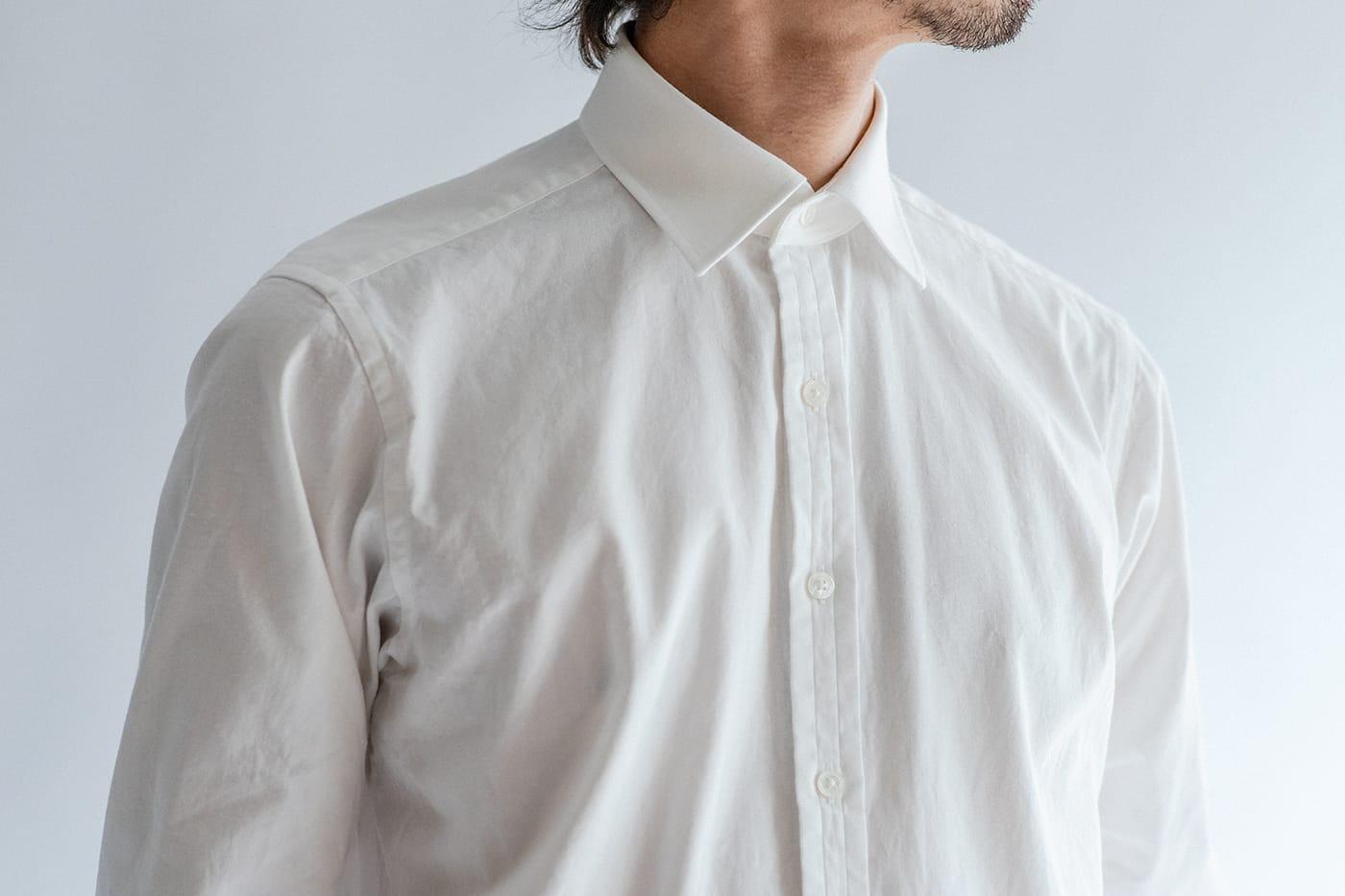 カジュアルシャツ「ブライトン」 英国の伝統美を継承しつつ、程よくソフトな表情に
