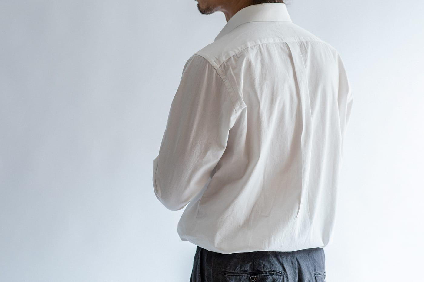 カジュアルシャツ「ブライトン」 アメリカンテイストも取り入れて、英米のクラシックをミックス