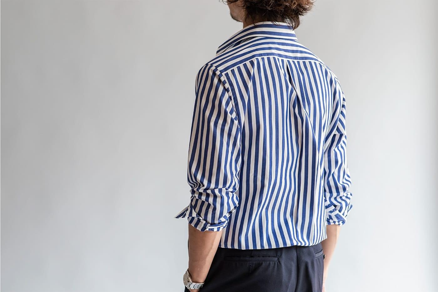 """ドレスシャツ「ロンドン」 程よい""""ゆとり""""をもたせた、古きよきシルエットを再現"""