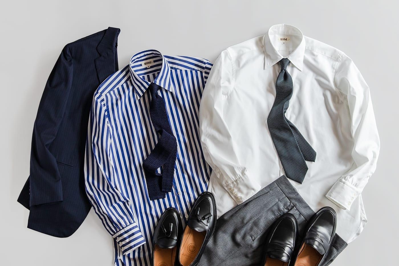 ドレスシャツ「ロンドン」 オンオフがシームレス化する今のライフスタイルに最適な一着